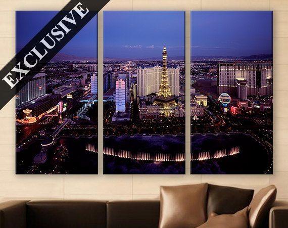 Amazing 90+ Las Vegas Wall Art Inspiration Of Wall (Image 3 of 20)