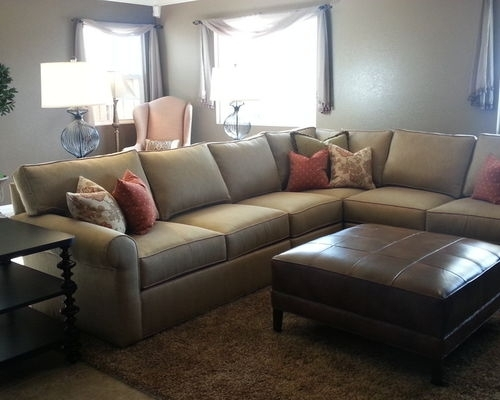 Amazing Ethan Allen Sectional Houzz Sofas Family Room Living Intended For Houzz Sectional Sofas (Image 2 of 10)