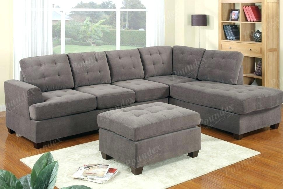 Amazing Grey Couch Sectional Or Medium Size Of Sectional Sectional With Regard To Sectionals With Chaise And Ottoman (Image 1 of 10)