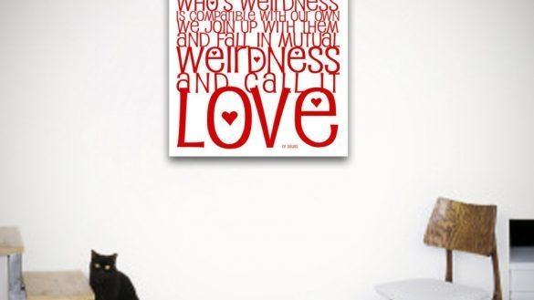 Amazing Love Canvas Wall Art Con Fine Site In Love Canvas Wall Art (Image 3 of 20)