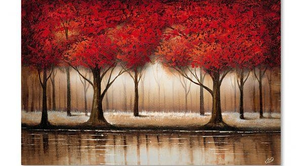 Amazing Tree Canvas Wall Art Con Fine Site Within Jcpenney Canvas Wall Art (Image 1 of 20)
