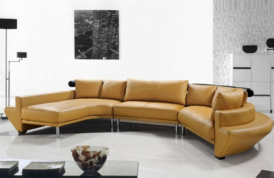 Amazing Ultra Modern Leather Sectional Sofa Set Tos Lf 2056 Of Sofas Pertaining To Vt Sectional Sofas (Image 1 of 10)