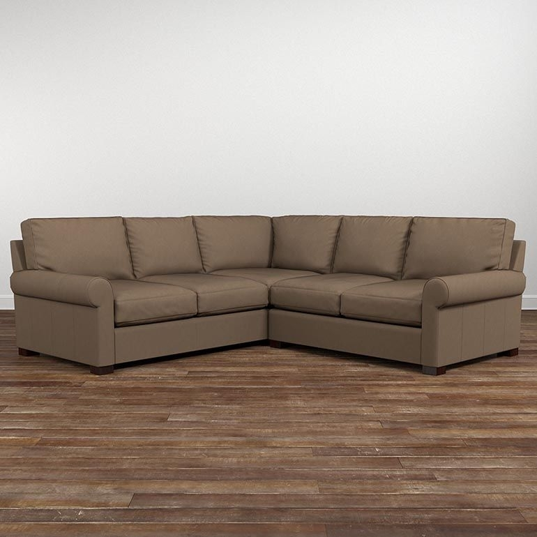 American Casual Scarborough Small L Shaped Sectional | American In Scarborough Sectional Sofas (Image 1 of 10)