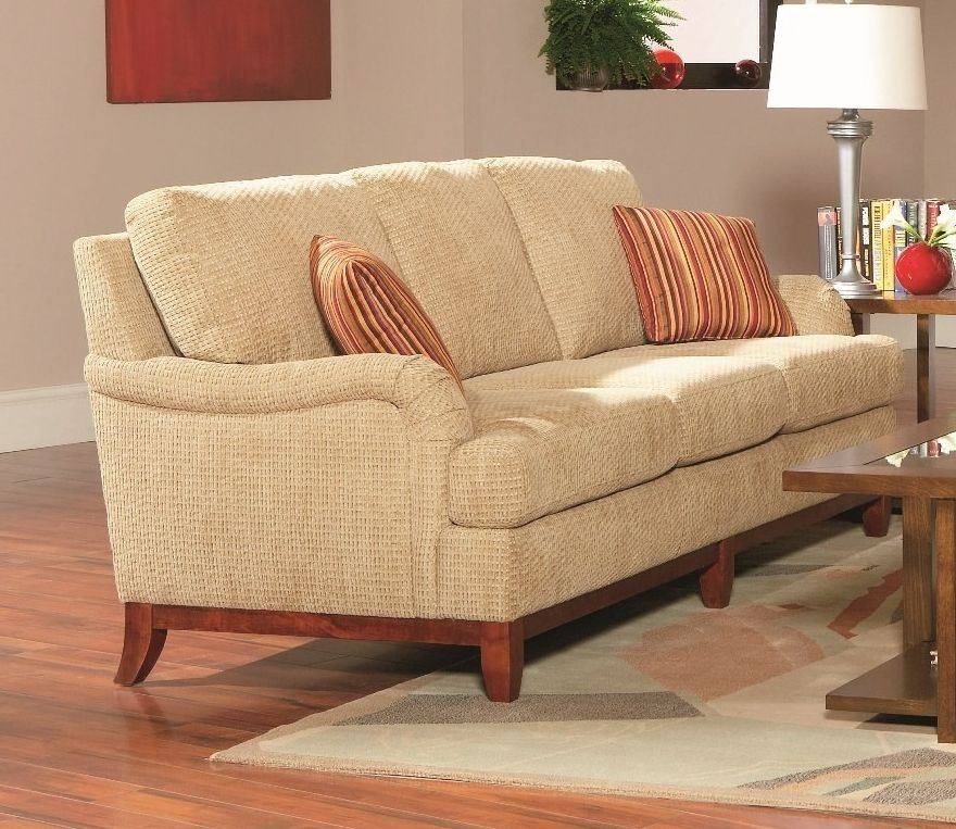 Amorose Chenille Casual Sofa | Sofas With Regard To Casual Sofas And Chairs (Image 1 of 10)