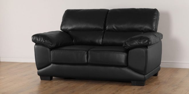 An Overview Of 2 Seater Sofa – Elites Home Decor Inside Black 2 Seater Sofas (Image 2 of 10)