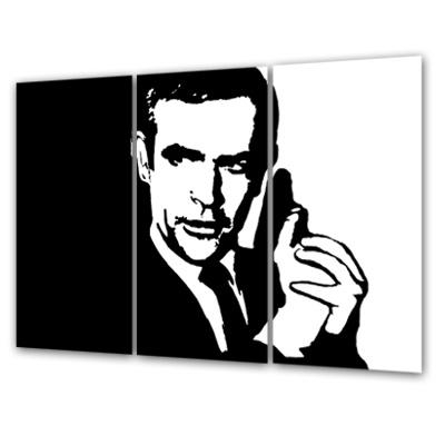 An Overview On My Artwork: – Pop Art World – Gallery, Canvas Inside James Bond Canvas Wall Art (Image 3 of 20)