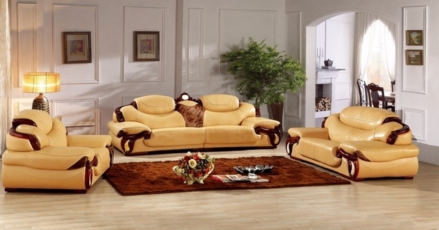 Antique European Leather Sofa Set Living Room Sofa Made In China With Sectional Sofas From Europe (Image 1 of 10)