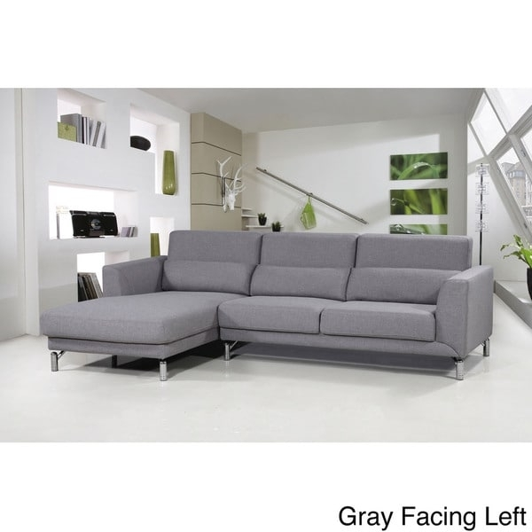 Aria Fabric Modern Sectional Sofa Set – Free Shipping Today Inside Modern Sectional Sofas (Image 1 of 10)