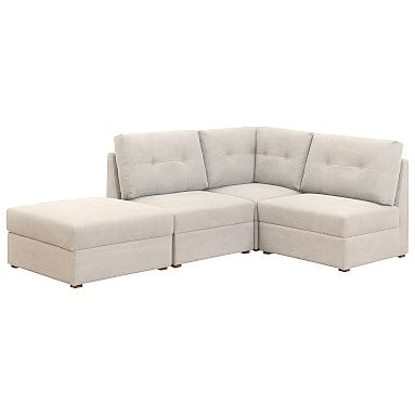 Armless Sectional Sofa   Pbteen Within Armless Sectional Sofas (Image 2 of 10)