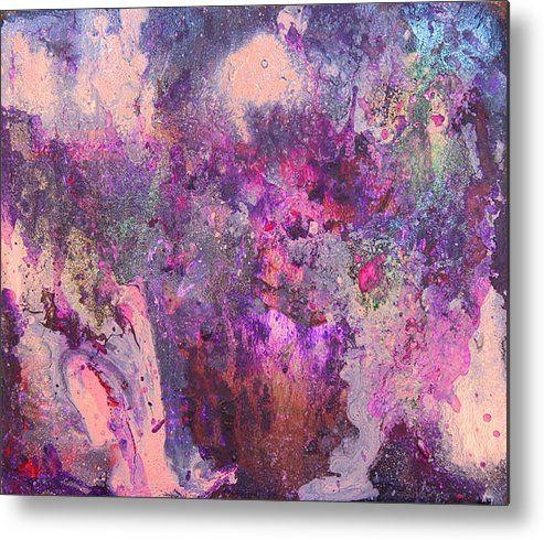 Art, Abstract Print, Lilac, Purple Painting, Silver, Pink Regarding Lilac Canvas Wall Art (Image 2 of 20)