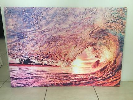 Art Canvas For Sale In Mandurah Area, Wa | Gumtree Australia Free Inside Mandurah Canvas Wall Art (Image 1 of 20)