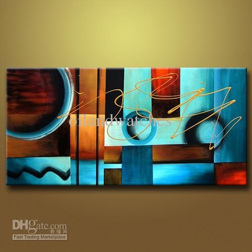 Art Large Oil Painting Canvas An Abstract Modern Wall On Large Regarding Modern Abstract Huge Oil Painting Wall Art (Image 6 of 20)