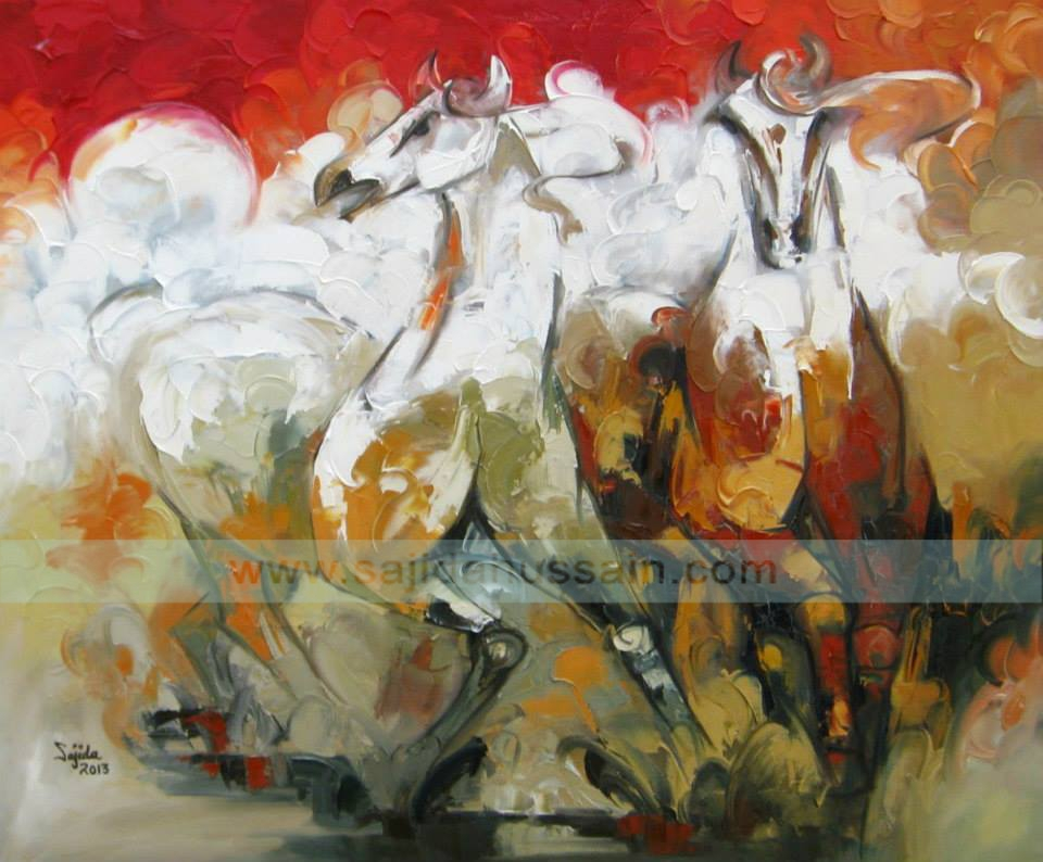 Art Prints For Sale| Best Abstract Horse Art Painting Within Abstract Horse Wall Art (Image 4 of 20)