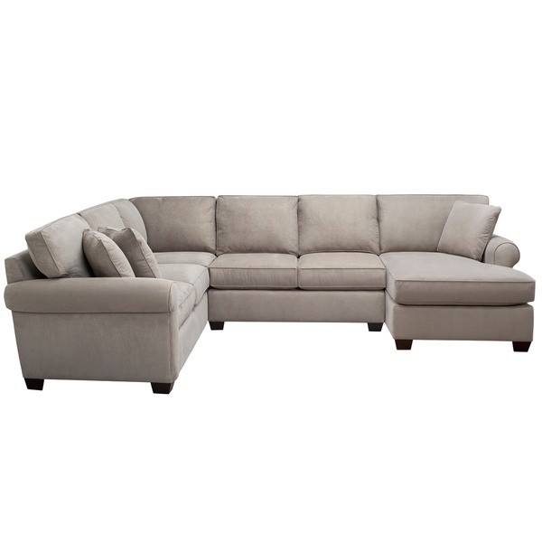 Art Van Marisol Iii 3 Piece Grey Sectional Sofa Set | Home Throughout Sectional Sofas Art Van (View 6 of 10)