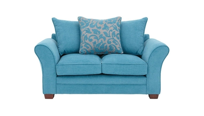 Artistic Bronte Small 2 Seater Sofa Compactsofa Co Uk In Intended For Small 2 Seater Sofas (Image 2 of 10)