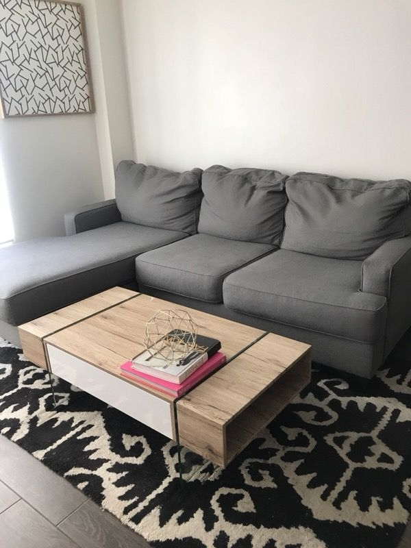Ashely Home Sectional Sofa (Furniture) In Queens, Ny – Offerup Within Queens Ny Sectional Sofas (View 10 of 10)