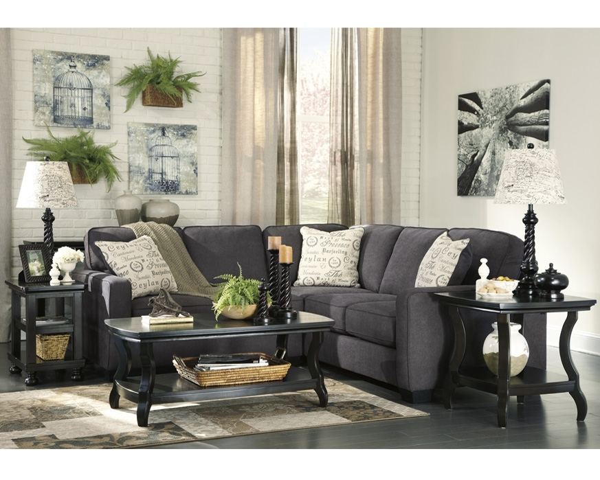 Ashley Furniture Alenya Sectional 16601 Grey Track Arm Sofa San Within Orange County Ca Sectional Sofas (Image 2 of 10)