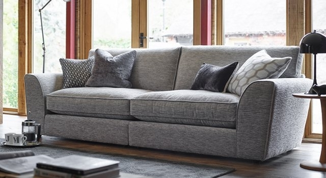 Ashley Manor Sofas Hobbs 4 Seater Sofa – 4 Seater Sofas Inside 4 Seater Sofas (Image 4 of 10)