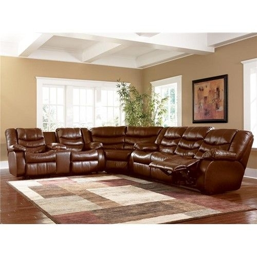 Ashley Millennium Revolution – Saddle Reclining Sofa Sectional Intended For Jackson Ms Sectional Sofas (Image 4 of 10)