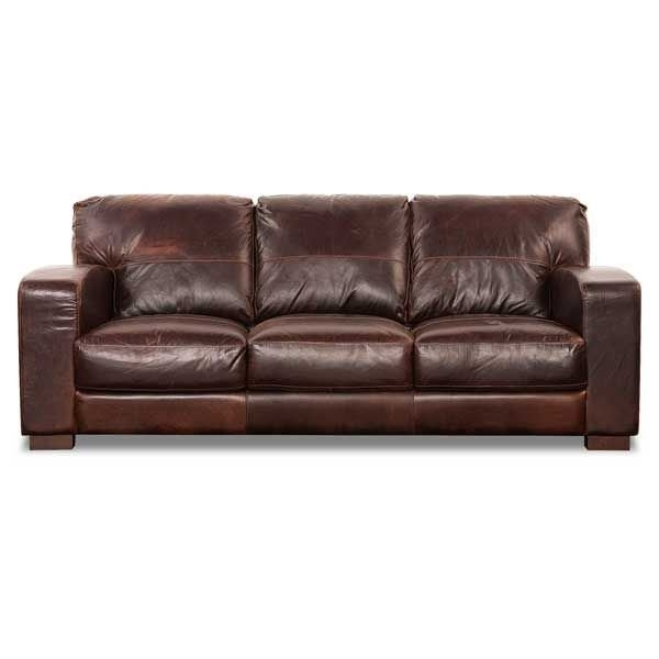 Aspen All Leather Sofa 1G 4442S | Soft Line | Afw Regarding Aspen Leather Sofas (Image 2 of 10)