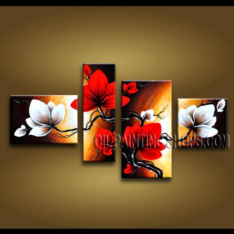 Astonishing Contemporary Wall Art Hand Painted Art Paintings For Inside Hand Painted Canvas Wall Art (Image 4 of 20)