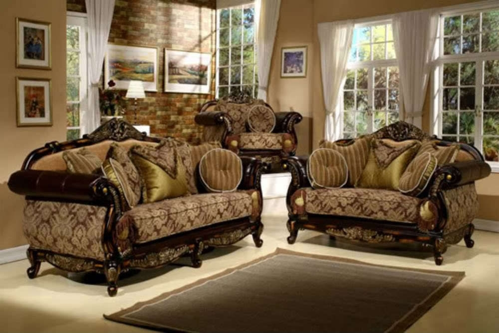Astonishing Elegant Living Room Furniture Officialkod Com At Throughout Elegant Sofas And Chairs (Image 1 of 10)