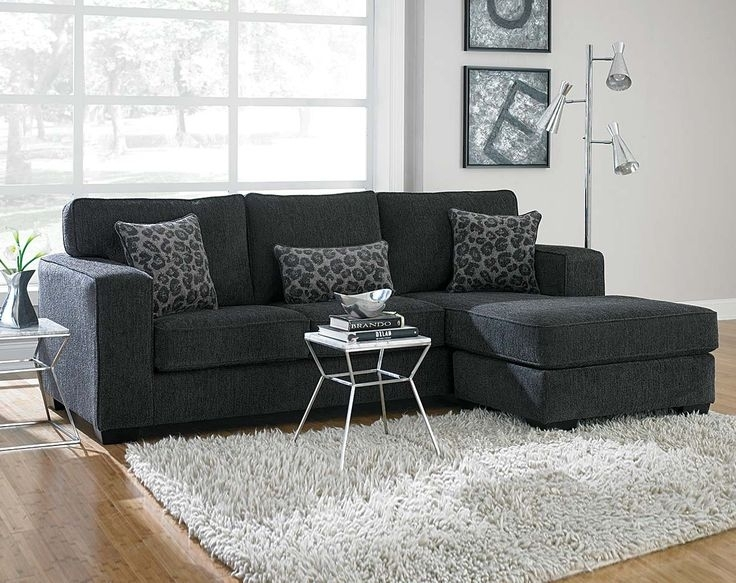 Astonishing Impressive Best 20 Gray Sectional Sofas Ideas On Pertaining To Charcoal Grey Sofas (Image 1 of 10)