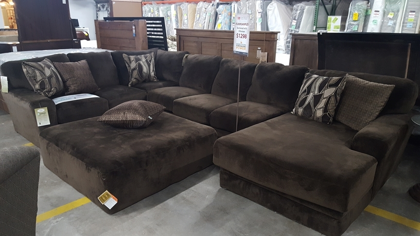 Awesome Everest Sectional Sofa With Chaise Lounge And Ottoman Bob In Leather Sectionals With Chaise And Ottoman (Image 2 of 10)