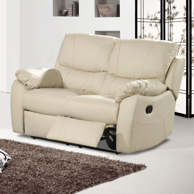 Awesome Leather Sofa 2 Seater Recliner Catosfera Net With Two Seat For 2 Seat Recliner Sofas (Image 3 of 10)