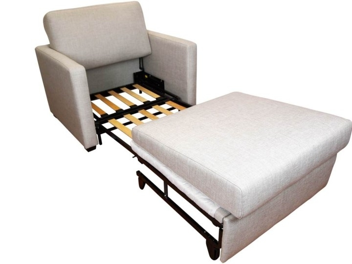 Awesome Single Sofa Sleeper Single Sofa Bed Dimensions Wildwoodsta Pertaining To Fold Up Sofa Chairs (Image 2 of 10)
