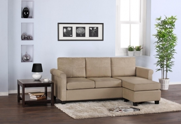 Awesome Small Sectional Sofas For Small Spaces Sectional Sofas Small Intended For Sectional Sofas In Small Spaces (Image 2 of 10)