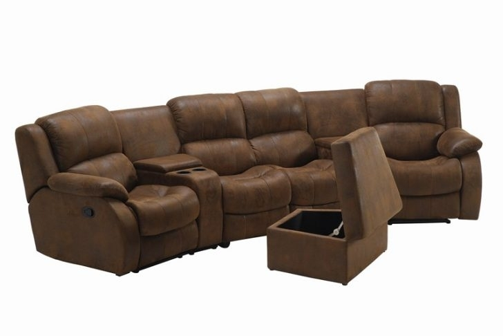Awesome Theater Sectional Sofa – Buildsimplehome With Theatre Sectional Sofas (Image 2 of 10)
