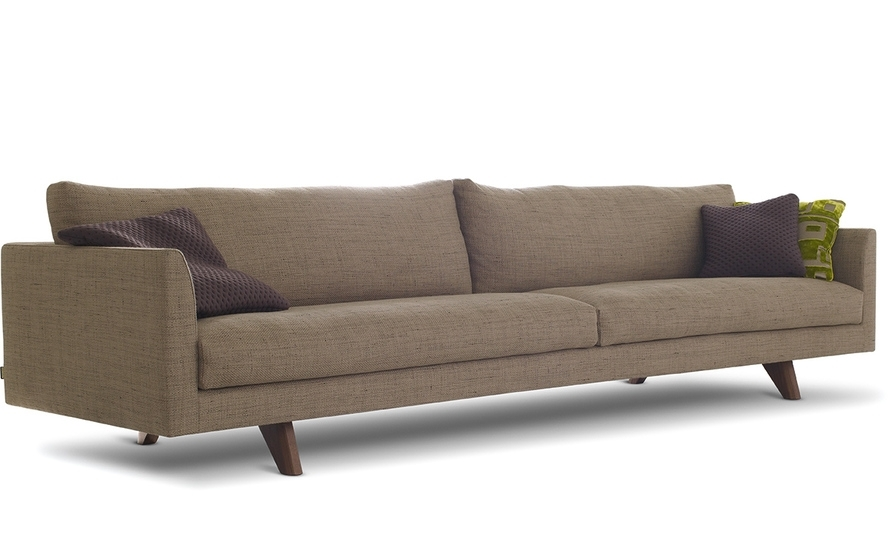 Axel 4 Seat Sofa – Hivemodern Intended For Four Seater Sofas (Image 2 of 10)