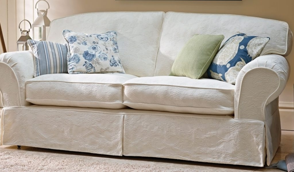 Banbury Floral Patterned Loose Cover 3 Seater Sofa | Sofasofa For With Sofas With Removable Cover (Image 1 of 10)