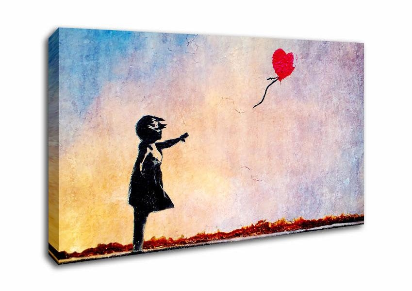 Banksy Wide Panel Canvas Prints | Wallstickersd2U.co (View 3 of 20)