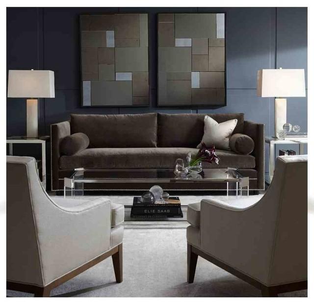 Bardot Sofa & Aston Mirrors – Modern – Charlotte  Mitchell Gold With Mitchell Gold Sofas (Image 2 of 10)
