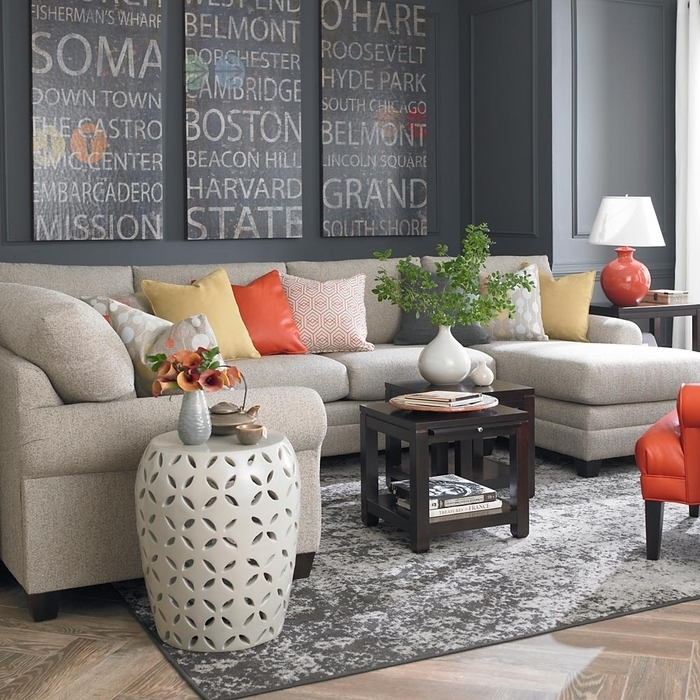 Bassett Furniture Sofa | Bonners Furniture Pertaining To Sectional Sofas At Bassett (Image 1 of 10)