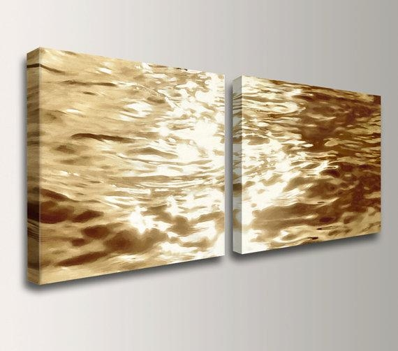 Featured Image of Gold Canvas Wall Art