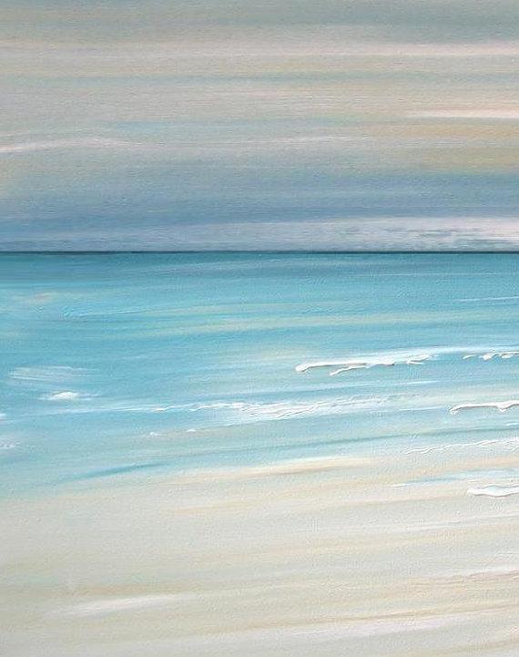 Beach Artwork, Nautical Artwork, Beach Decor, Beach Art, Ocean Art Throughout Abstract Nautical Wall Art (Image 4 of 20)