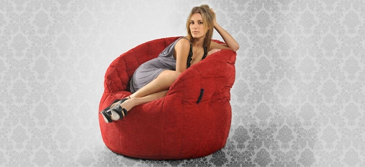 Bean Bag Furniture For Designer Interiors | Outdoor Bean Bags Pertaining To Bean Bag Sofas And Chairs (Image 3 of 10)
