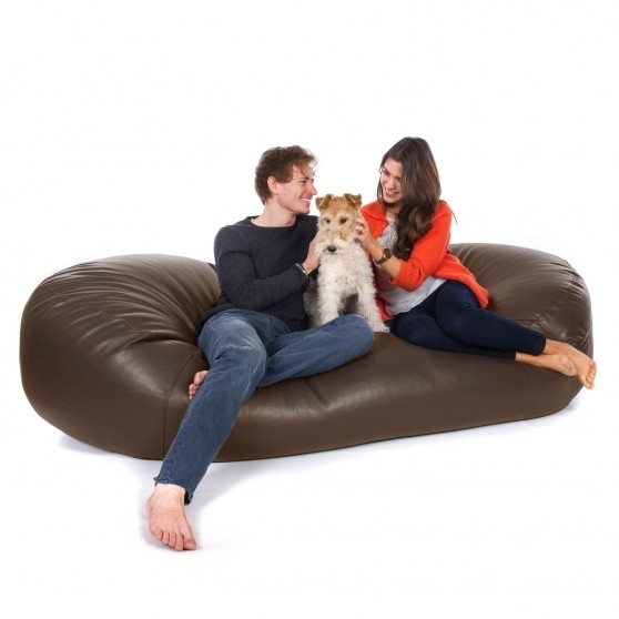 Bean Bag Sofa Beds | Bean Bag Sofas From Greatbeanbags™ Regarding Bean Bag Sofas (Image 3 of 10)