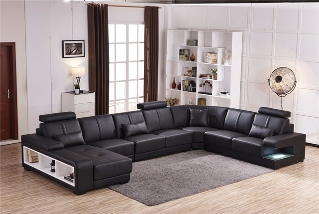 Beanbag Chaise Specail Offer Sectional Sofa Design U Shape 7 Seater Regarding Quality Sectional Sofas (Image 1 of 10)