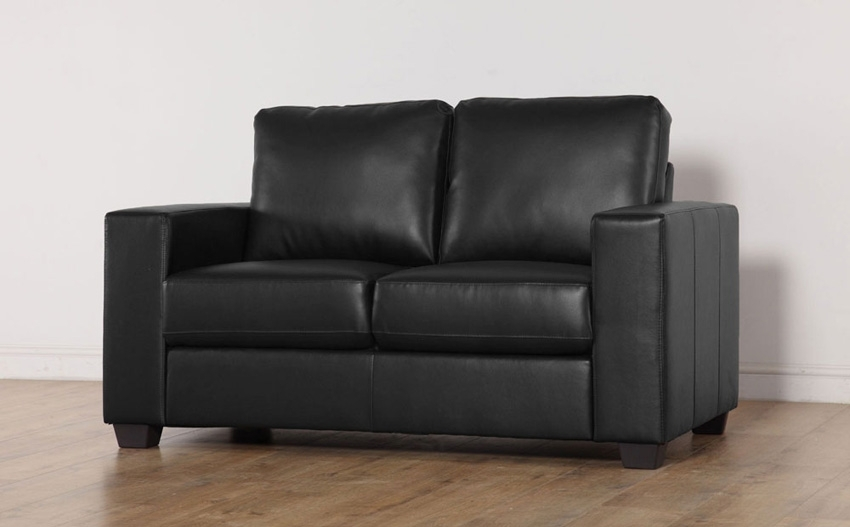 Beautiful Black 2 Seater Sofa 70 Sofa Design Ideas With Black 2 Regarding Black 2 Seater Sofas (Image 3 of 10)