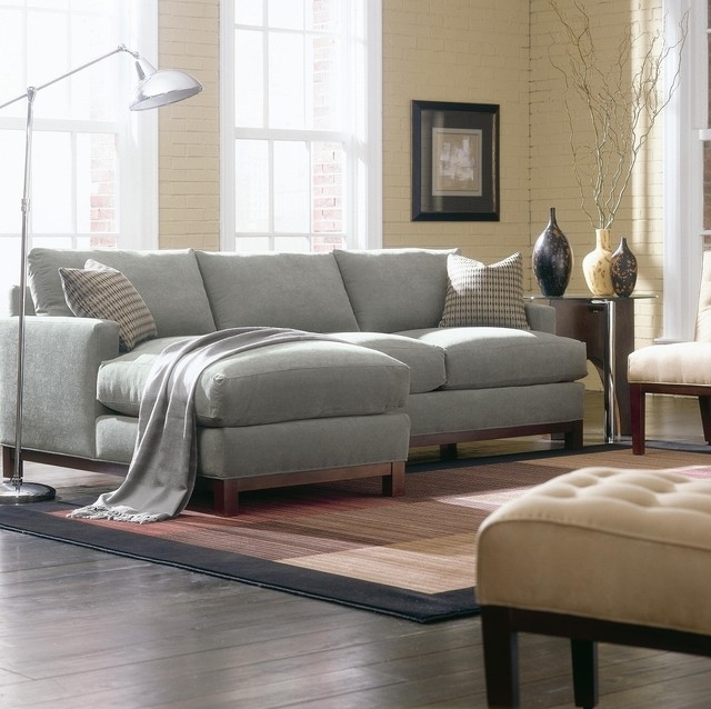 Beautiful Contemporary Sectional Sofas Nyc Mjob Blog At Light Gray Inside Light Grey Sectional Sofas (Image 2 of 10)