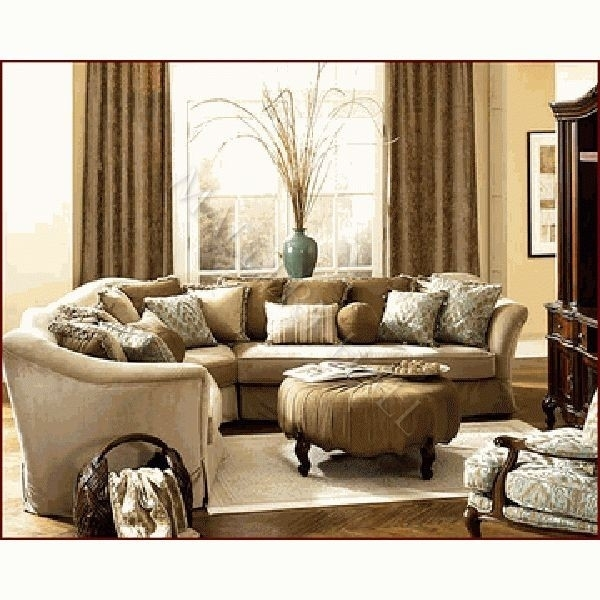 Beautiful Gold Sectional Sofa – Buildsimplehome With Gold Sectional Sofas (View 5 of 10)