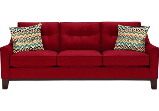 Beautiful Red Sleeper Sofas 77 In Natuzzi Leather Sleeper Sofa With Regarding Red Sleeper Sofas (Image 1 of 10)