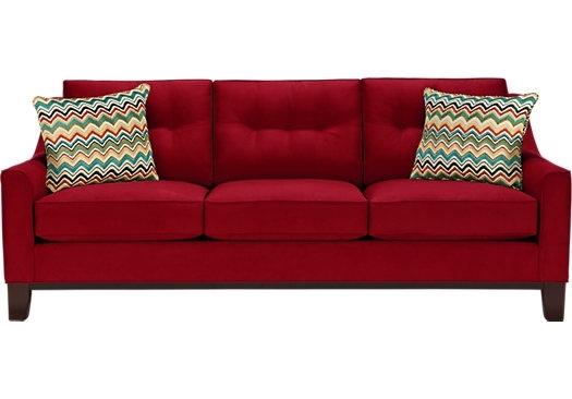 Beautiful Red Sleeper Sofas 77 In Natuzzi Leather Sleeper Sofa With Regarding Red Sleeper Sofas (View 3 of 10)