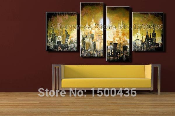 Beautiful Wall Art Cityscape Images – Wall Art Design Throughout Ottawa Abstract Wall Art (View 5 of 20)