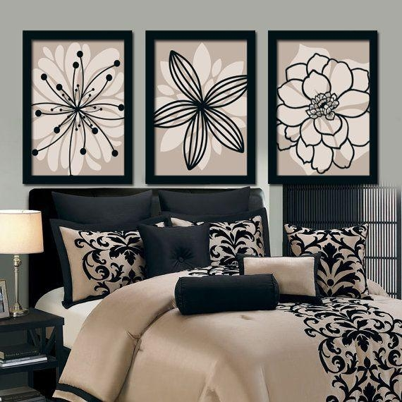 Bedroom Bedding Wall Art Canvas – Home Furniture Ideas Intended For Bedroom Canvas Wall Art (Image 5 of 20)