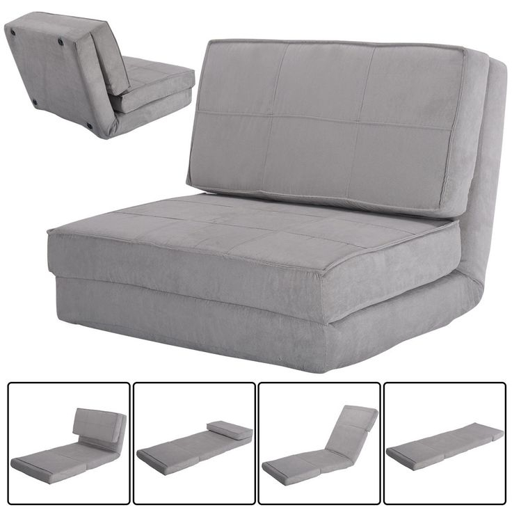 Bedroom Decoration : Chair That Unfolds Into A Bed Oversized Chair For Pull Out Sofa Chairs (Image 2 of 10)